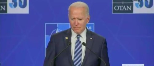 President Biden Completely Shuts Down, Goes Silent While Answering Question About Putin