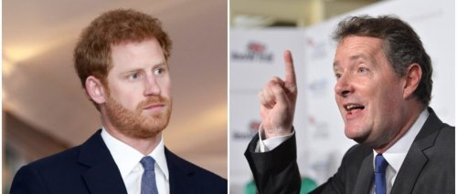 Piers Morgan Goes After Prince Harry For His Thought's On America's First Amendment