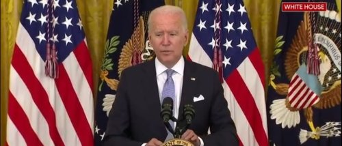 'Where We Have A High Vaccination Rate, People Don't Have To Wear A Mask': Biden Contradicts CDC Mask Guidelines
