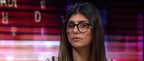 Ex-Porn Star Mia Khalifa Sips Champagne From Nazi-Occupied France, Calls Israel 'Apartheid' State