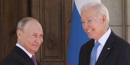 Joe Biden Smiled at Vladimir Putin: The World Is Saved. Or Over