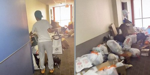 'We're paying this much rent and can't even put our trash in the... trash': Student puts university apartment on blast over living conditions in viral TikTok
