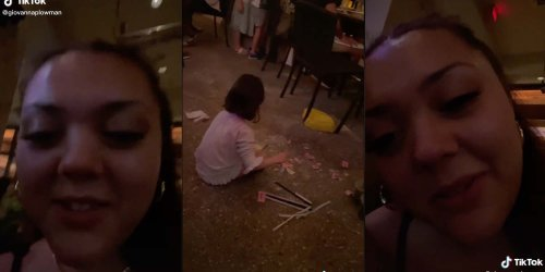 'Don't hate the kids. Hate the parents': Viral TikTok of kids playing on floor at Cheesecake Factory sparks debate