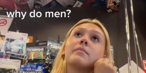 'I was just trying to do my job': 19-year-old TikToker films man persistently hitting on her while she is trying to work