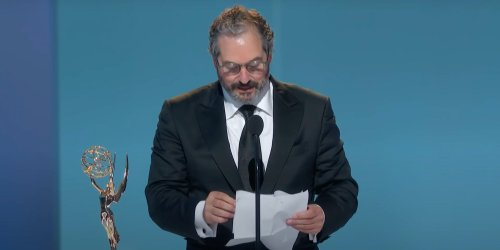 'This guy just won't shut up': 'The Queen's Gambit' director slammed for too-long Emmy speech
