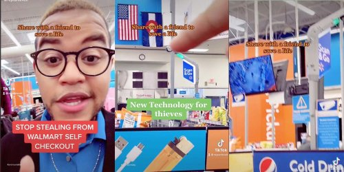 'Stop stealing from self-checkout': TikToker says Walmart has new tech to catch customers stealing