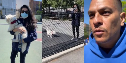 Video Shows A Dog Karen Getting Angry At A Man Demanding He Keep Her Unleashed Dog Away From His Child