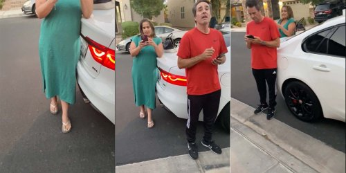 'Go lick a d*ck': 'Karen' couple insult homeowner after trying to enter his house, dividing viewers