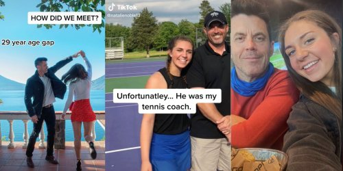 'Um honey that's grooming': Popular TikToker sparks concern after revealing her boyfriend was her tennis coach in viral video