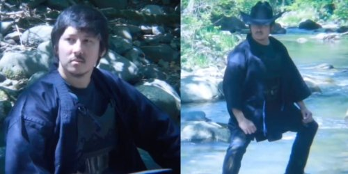 Ron Watkins Gets Trolled After Posting Bizarre Video In Cowboy Hat, Body Armor