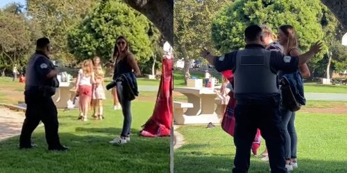 'Why can't people just mind their own business?': Karen calls cops on pit bull at park