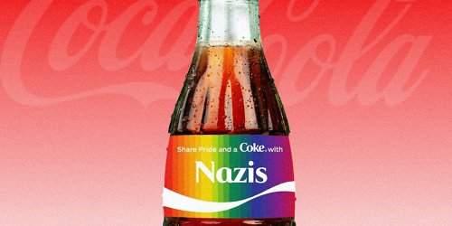 'Well done': Coca Cola doesn't allow 'Palestine' or 'Black Lives Matter' on its Coke bottles—but it does allow 'blue lives matter'