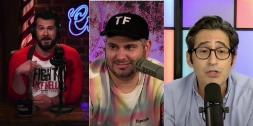 Conservative comic Steven Crowder trolled after running away from debate with Sam Seder and H3's Ethan Klein