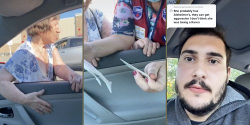 'Not a Karen at all': Woman confuses TikToker's car as her ride in Lowe's parking lot