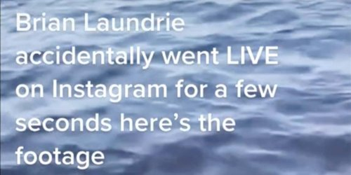 Did Brian Laundrie live stream a lake on Instagram after Gabby Petito's body was found?