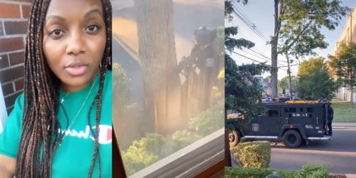 Woman shares bizarre standoff with an extremist group trying to steal her home in 49-part TikTok series