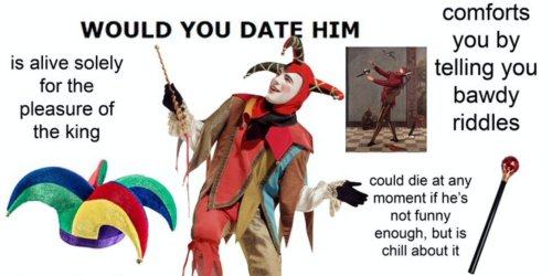 These 'would you date him?' memes would definitely have you swiping left