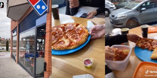 'This is stealing': TikTokers' trick to getting 'unlimited Domino's pizza' sparks debate