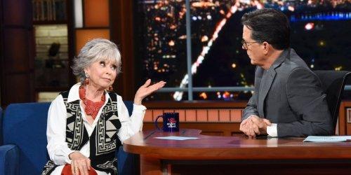 People aren't happy with Rita Moreno for her defense of Lin-Manuel Miranda