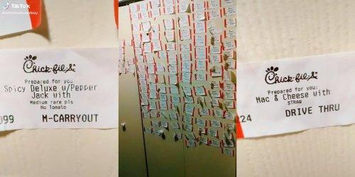 'Chick-fil-A guests be wildin': Worker roasts customer orders in viral TikTok