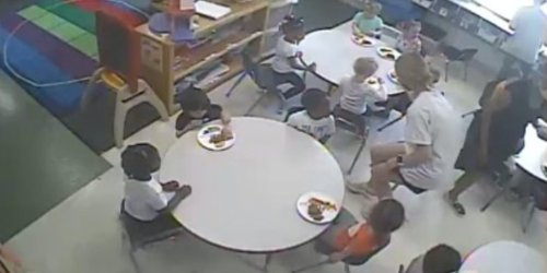 'Not one Black child has food': Viral image shows only the white kids in a daycare class eating