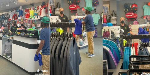 Video: Tennis store manager racially profiles two Black women, accuses them of shoplifting