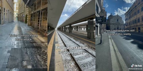 TikToker claims to have woken up in an alternate reality with no people, shows footage of an empty world