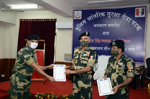 Investiture ceremony organized by BSF