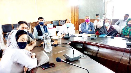 DDC members send relatives to meeting, ADC calls shots