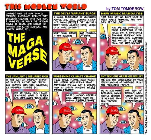 Cartoon: The surreal magaverse
