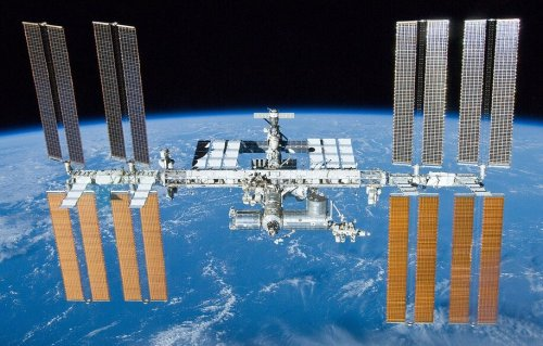 It is solar panel installation day at the ISS today!