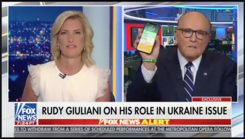 Before Trump made his infamous Ukraine phone call, Rudy Giuliani made one just like it