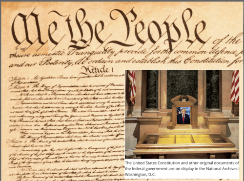 Who needs Mt. Rushmore? Trump now demands a do-over for the US Constitution: The Trumpstitution