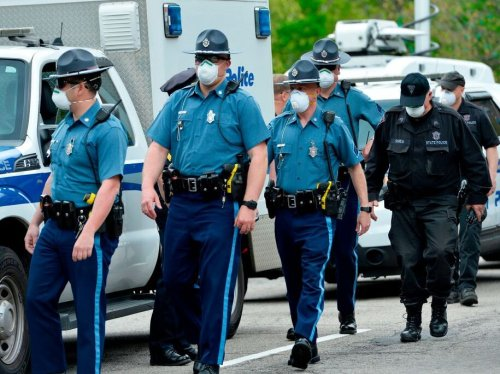 Massachusetts police union claims 'dozens of troopers' to resign over vaccine mandate. Only one has