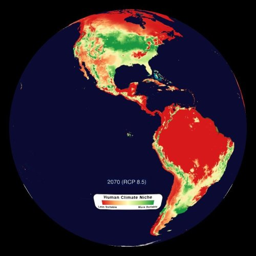 3.5 billion will be left outside the climate niche that we have lived in for thousands of years.