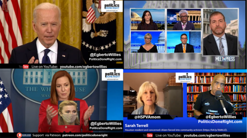 Traitors v. Patriots, Jen Psaki embarrasses Right-Wing reporter, Biden slams GOP narrative