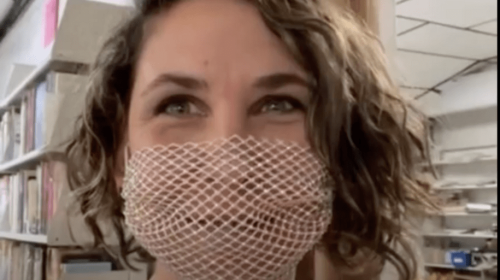 'Bullhorn lady' openly mocked a judge's order to wear a mask in public. Then a judge found out