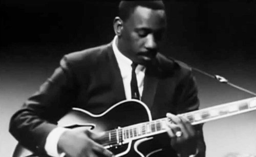 Wes Montgomery made jazz magic strumming the strings with his thumb