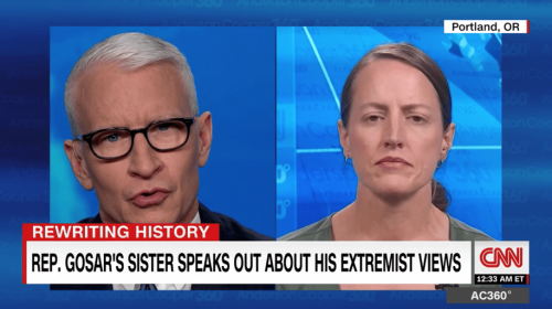 Radical right-wing congressman's sister speaks out, says he shares blame for Jan. 6th riots