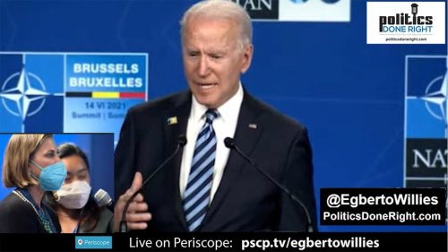Biden said 'this' after he slammed Trump's 'Phony Populism' & a derelict GOP at NATO Summit.