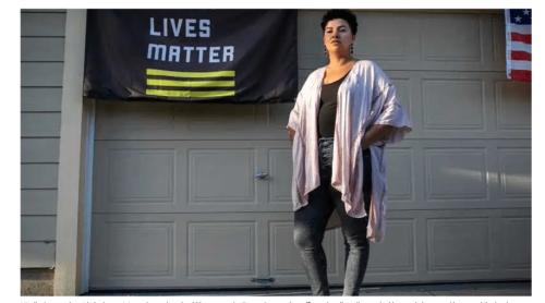Second officer arrested after being triggered by Black Lives Matter flag outside stranger's home