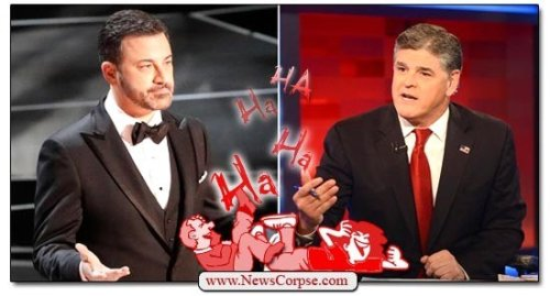 Sean Hannity Flings Flaccid Threat at Jimmy Kimmel: 'Don't Talk About My Show'