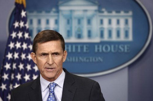 Mike Flynn warns the world of dark forces putting vaccines in your salad dressing