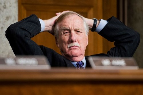 Today, I wanted to smack Senator Angus King in the head thrice as he talked about the filibuster.
