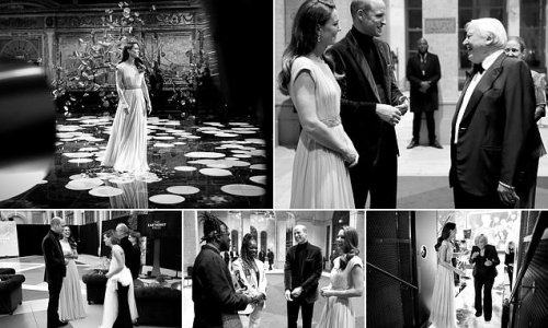 Kate Middleton and Prince William backstage at Earthshot Prize Awards