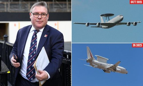 Outrage as RAF axes sentry planes TWO YEARS before replacements ready