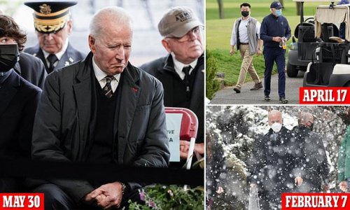 Biden sets record for weekends away from White House just 4 months in