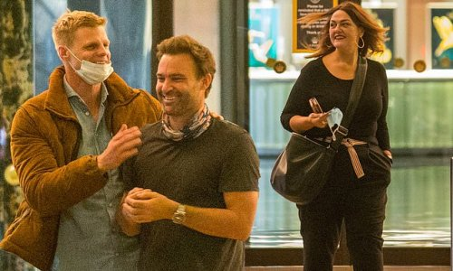 Celebrity MasterChef: The cast enjoy a night out in Melbourne