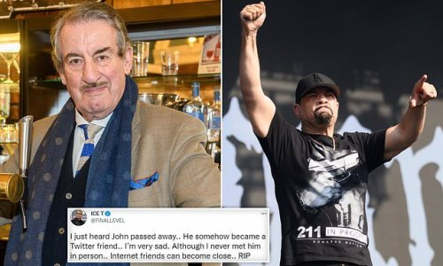 Rapper Ice T pays tribute to Only Fools and Horses star John Challis