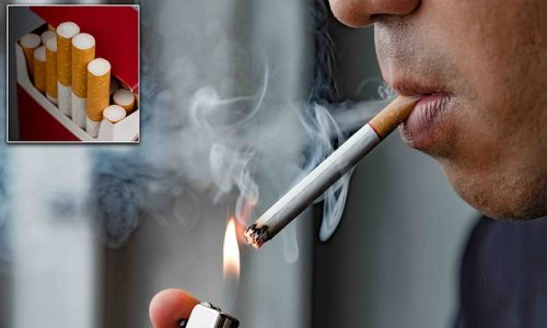 'Smoking kills' could be printed on EVERY cigarette under MP proposals